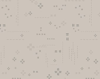 1/2 Yard Art Gallery Fabrics Decostitch in Porcini DSE 701