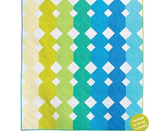 Paper Cuts Quilt Pattern designed by Meghan Buchanan of Then Came June