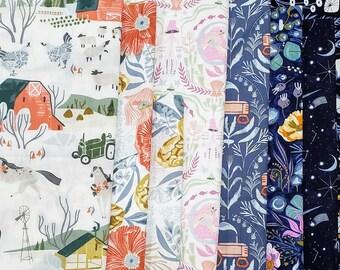 End of Bolt Fabric Bundle Dear Stella Rae Ritchie Variety Prints - 2.33 Yards