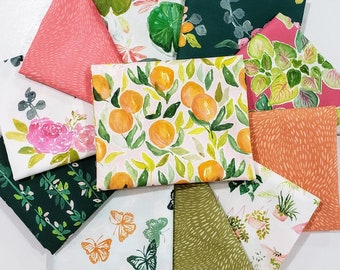 Dear Stella Orangerie Fabric Bundle designed by Caitlin Wallace Rowland  - 11 Prints - Pick your cut