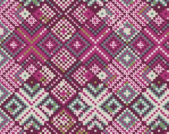 Art Gallery Mystical Land Refractions in Orchid 13966 Designed by Maureen Cracknell - Pick your cut