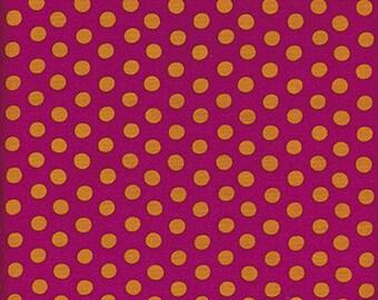 Spot in Magenta Kaffe Fassett  fabric - GP070 - Sold in 1/2 yard increments
