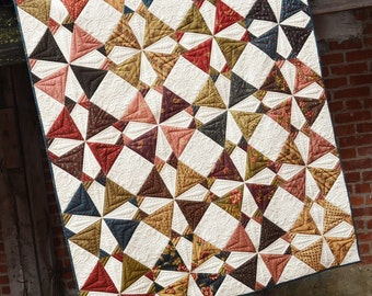 Tax Season Quilt Pattern by Louanna Mary Quilt Designs