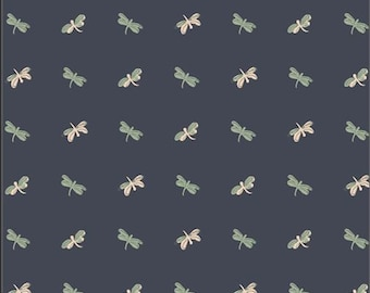 Lilliput, Skimmers 56712 from Art Gallery fabrics designed by Sharon Holland - Sold in 1/2 yard increments