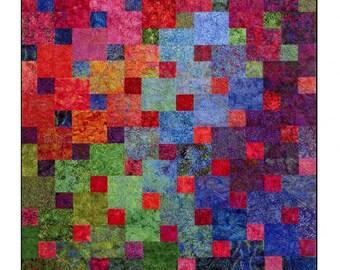 Xanadu Quilt pattern by Janine Burke.