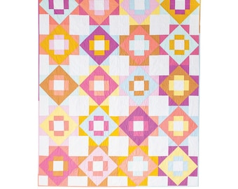 Meadowland Quilt Pattern designed by Meghan Buchanan of Then Came June