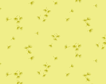 1/2 Yard Andover Collective Dandelion in Yellow 9598Y designed by Karen Jarrar