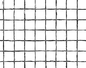 1/2 yard Art Gallery Grid, Positive Grid 50401 by AGF Studio