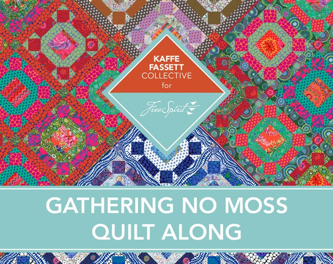 Featured listing image: Registration Fee for Kaffe 2021 QAL Gathering No Moss - All 4 Colorways