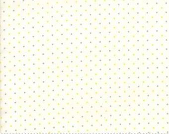 1/2 Yard Moda Essential Dots - Grey and Yellow 8654-141