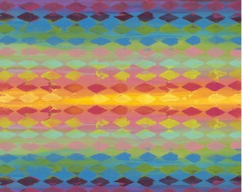 Free Spirit Pizzazz Harlequin in Multi 020 designed by Sue Penn - Sold in 1/2 yard increments