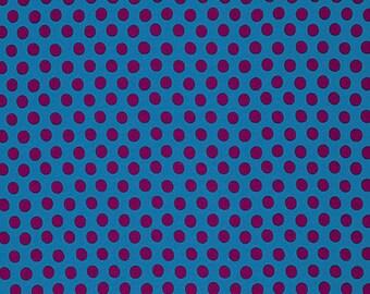 1/2 Yard Spot in Peacock Kaffe Fassett  fabric - GP070