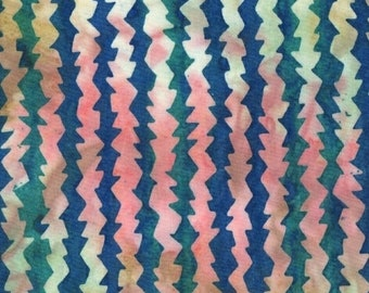 1/2 yard Parts Dept Batik Saw Blades in Multi 8184-0154 designed by Victoria Findlay Wolfe for Studio 37 of Marcus Bros