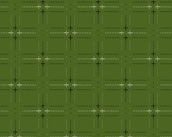 LAST Yard Andover Entwine Plus G in Verdant designed by Giucy Giuce.  Woven Yarn Dye Dobby fabric