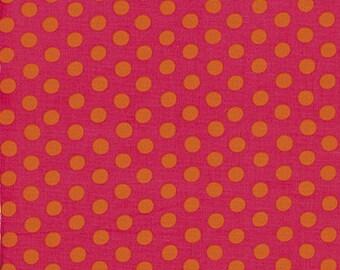 1/2 yard Spot in Fuchsia Kaffe Fassett  fabric - GP070