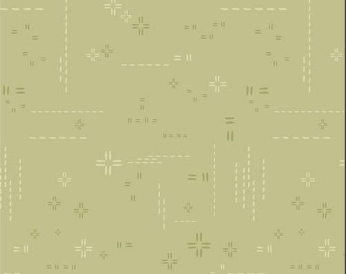 Featured listing image: 1/2 Yard Art Gallery Fabrics Decostitch in Subtle Sage DSE 723