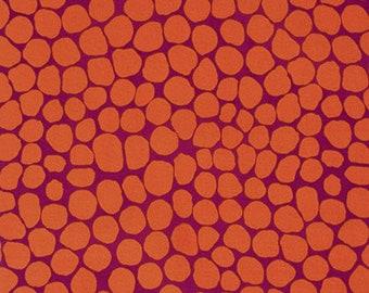 1/2 Yard Jumble in Orange Brandon Mably fabric BM053