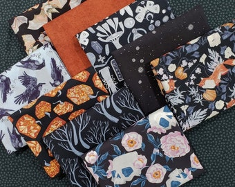 Dear Stella Toil and Trouble Fabric Bundle designed by Rae Ritchie - 10 Prints - Pick your cut