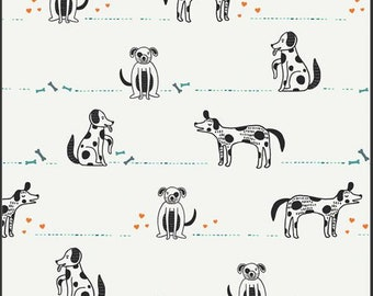 Oh Woof, Good Pup  68689 from Art Gallery fabrics designed by Jessica Swift - Sold in 1/2 yard increments
