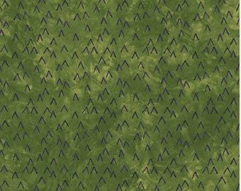 1/2 yard Rivers Bend  Grand Lake,  Treetops in Meadow 2114-25 designed by Janine Burke