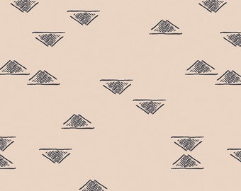 Art Gallery Homebody Domestic Charm in Birch 34951 designed by Maureen Cracknell - Sold in 1/2 Yard Increments