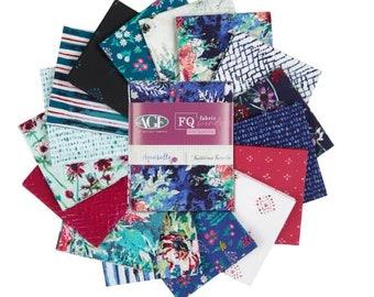 FQ Fabric Bundle  Art Gallery Fabrics Aquarelle  designed by Katarina Roccella - 16 prints