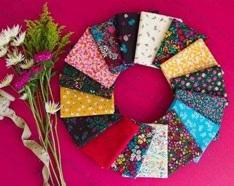 FQ Fabric Bundle Art Gallery Fabrics Flower Society designed by AGF Studios - 16 Prints