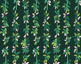 LAST Yard Dear Stella Orangerie, Lily Pad Vines  1857 designed by Caitlin Wallace Rowland