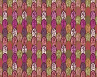 LAST Yard English Summer Preening in Zinnia designed by Anna Maria Horner for Free Spirit Fabrics