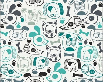 Oh Woof, Woof That Way  68691 from Art Gallery fabrics designed by Jessica Swift - Sold in 1/2 yard increments