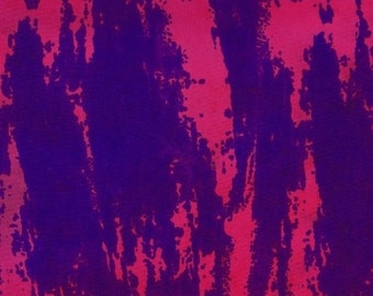 1/2 yard Parts Dept Batik Brush in Purple/Magenta 8192-0125 designed by Victoria Findlay Wolfe for Studio 37 of Marcus Bros