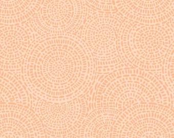 LAST Yard Aztec 4146 MO Medium Orange designed by  P&B Textiles