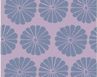 Damask Flower in Lilac fabric designed by Kaffe Fassett GP183  - Sold in 1/2 yard increments