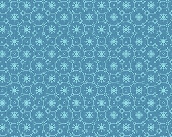 1/2 Yard Andover Collective Lace in Teal 9181T designed by Edyta Sitar