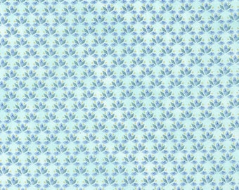 1/2 Yard Timeless Treasure Fly Away Geo in Aqua C5624 designed by Janelle Penner