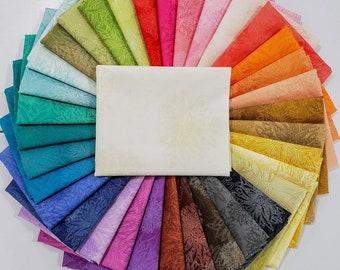 FQ Fabric Bundle Art Gallery Fabrics Floral Elements Basics - 35 colors
