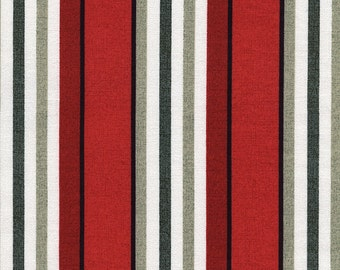 ON SALE 1/2 Yard Timeless Treasure Fresh Cut Awning Stripe by Michele D'Amore C4731