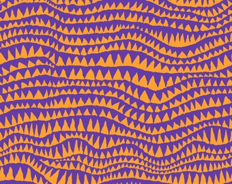 Shark's Teeth in Carnival fabric designed by Brandon Mably BM060 for Kaffe Fassett - Sold in 1/2 yard increments