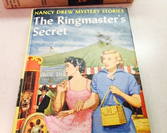 Vintage Nancy Drew Mystery Book The Ringmaster's Secret 25 Chapters Carolyn Keene #31 in the Series