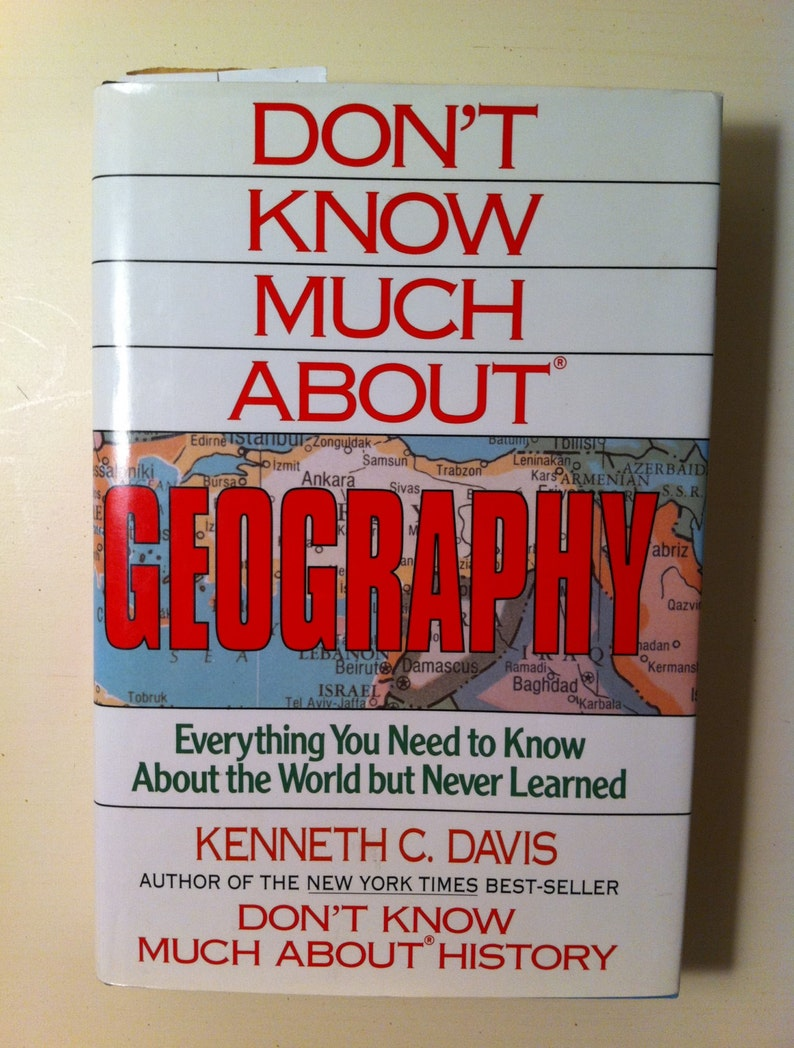 He Dont Know Much About Geography Or >> Geography Book Don T Know Much About Geography Planets Etsy