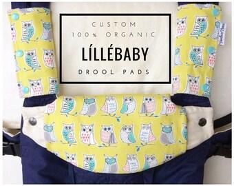 ff6513868728 Custom Lillebaby bio suckpads et bavoir   Des tampons de bave Lillebaby    Choisissez votre tissu !