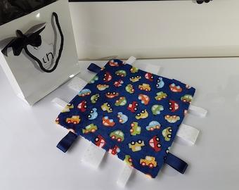 Honk Blue - Plush Trendy Taggie Blanket