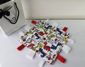 Roar - Plush Trendy Taggie Blanket