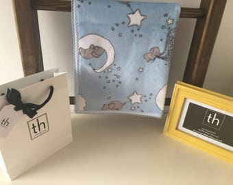 Dream Big Baby Blue - Plush Trendy Comfort Blanket