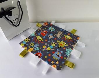 Fun Little Monsters - Plush Trendy Taggie Blanket