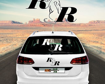 Car Sticker Dog Rhodesian Ridgeback 3