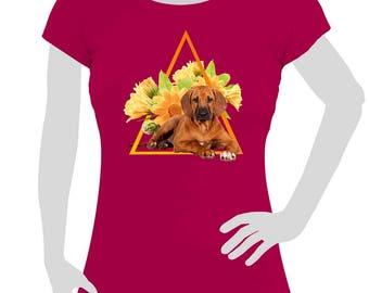 Ladies T-Shirt Rhodesian Ridgeback