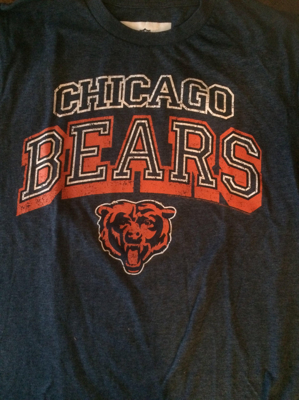 Chicago Bears Football Made To Order Custom Shirt Etsy
