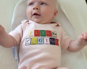 Future Scientist, Professor, Engineer, Chemist, Ceo - Designs!  All Colors all sizes!   Baby onesie bodysuits