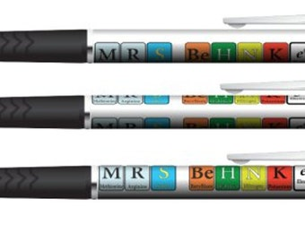 Pens for Chemists, Chemistry Teachers, Scientists - completely custom!